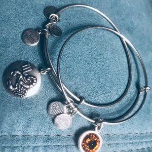 EUC Alex and Ani Bracelets
